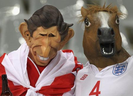 Horse Mask at the World Cup